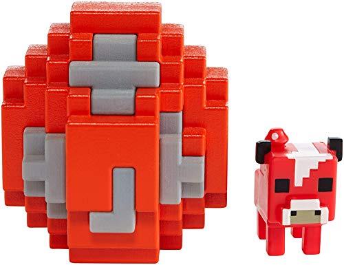Mattel FMC85 Minecraft Mini-Figuren Spawn-Ei, zufällige Auswahl, Spielzeug ab 6 Jahren