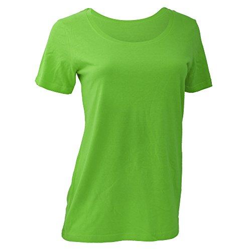 Anvil Damen T-Shirt Apfelgrün