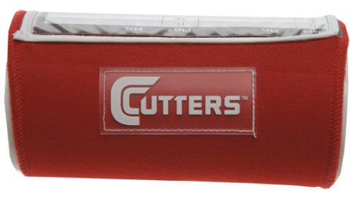 Cutters Playmaker Triple Adult Wristcoach Color Scarlet