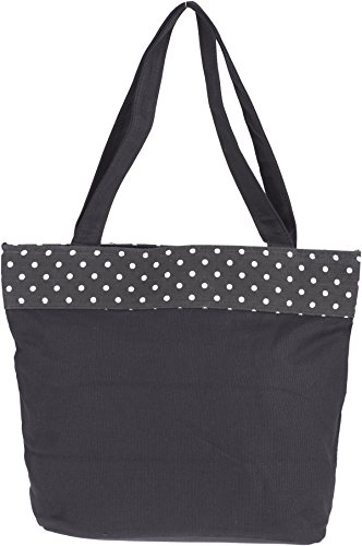 Küstenluder NYLAH Vintage POLKA DOTS Bow Ribbon TASCHE Shopper Rockabilly -