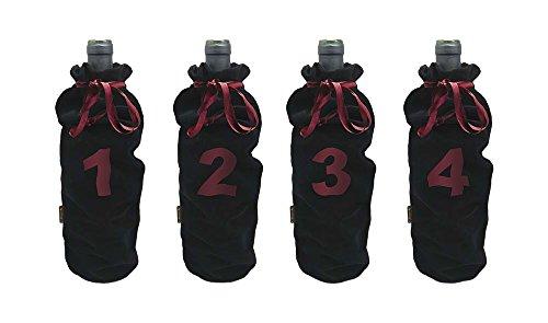 Vin Bouquet FIA 036 - Set mit 4 Hüllen für Blinde Weinproben