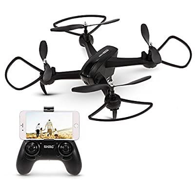 Goolsky HR SH7 1080P HD Camera Wifi FPV Drone Altitude Hold Follow-up Shooting Gesture Selfie 18mins Flight Time RC Quadcopter