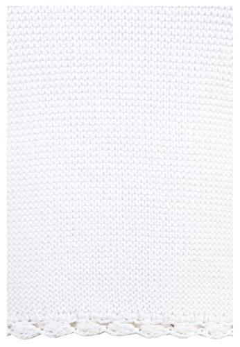 Eight2Nine Damen Neckholder Top einfarbig in Schwarz und Weiß | Stricktop aus hochwertigem Feinstrick mit Spitze White