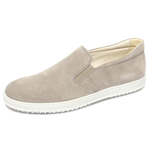 B0686 sneaker uomo HOGAN mocassino grigio shoes men [10]