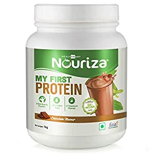 Nouriza My First Protein, Beginners Protein With Whey & Casein (By HealthKart), Chocolate-1 Kg
