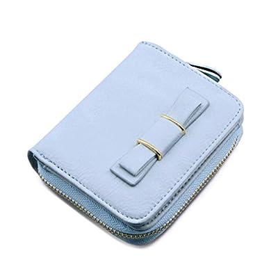 ZLR Mme portefeuille Portefeuille en cuir de grande taille Wallet