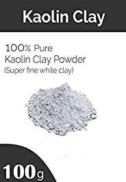 100% Natural Kaolin Clay Powder for Acne, Blackheads & Glowing Skin - (10