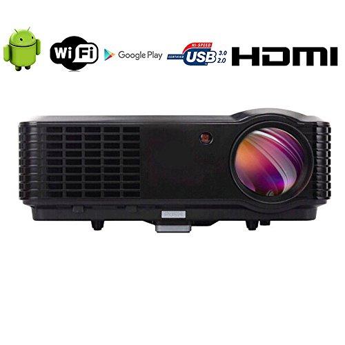 Inalámbrico 4500lúmenes HD Proyector Full HD 7000: 1cine en casa 1080P HDMI...