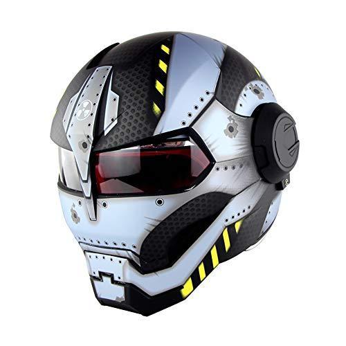LALEO Personalizado Radiación Casco Moto Modular
