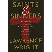 Saints & Sinners by Lawrence Wright (1993-04-13)