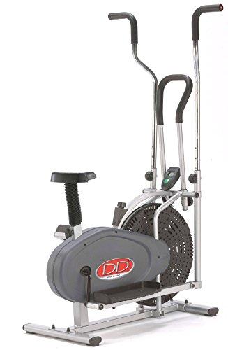 DAVID DOUILLET E02_2+1 Orbit Gym 2-in-1Heimtrainer, Grau
