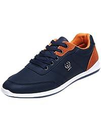 LHWY Zapatillas Mocasines de Deportes Zapatillas de Deporte de Moda para Hombre Zapatos Casual para Caminar Zapatos con Cordones Transpirables Zapatos para Correr