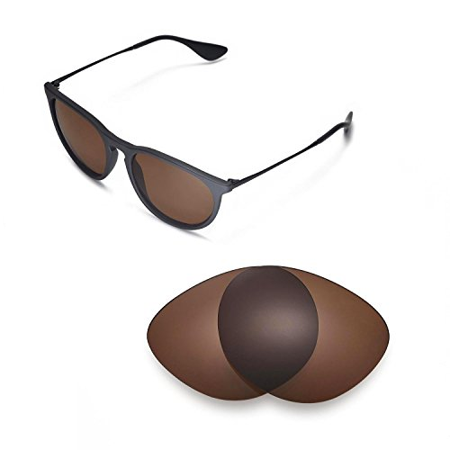 dda05aa3997 Walleva Replacement Lenses for Ray-Ban Erika RB4171 54mm- Multiple Options ( Brown - Polarized) - Buy Online in Oman.
