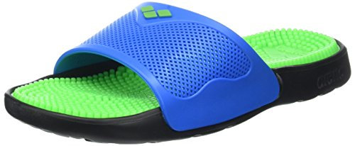 Arena Unisex Marco X Grip Badeschuhe, Grün (Solid Lime/Turquoise), 36 EU