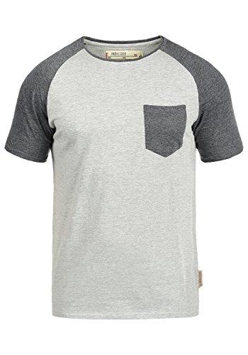 INDICODE Gresham T-Shirt, Größe:XXL;Farbe:Light Grey Mix (913)