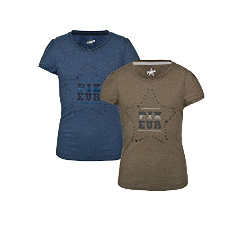 Pikeur Mädchen-Shirt mit Stern-Logo Lisa Young Stars Collection Frühjahr/Sommer 2018, Pink Melange, 140/146