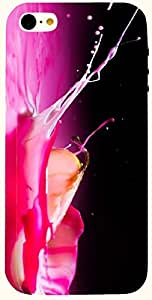Marvelous multicolor printed protective REBEL mobile back cover for iPhone 5 D.No.N-L-11561-IP5