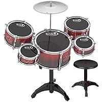 2e1b67de1a1db LIUFS-Tambor Batería Para Niños Juguete De Música Percusión Bebés Educación  Temprana Rompecabezas 3-