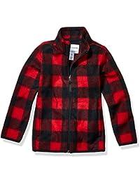 Amazon Essentials Boys' Full-Zip Polar Fleece Jacket Niños
