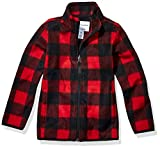 Amazon Essentials Boys' Full-Zip Polar Fleece Jacket Bambino