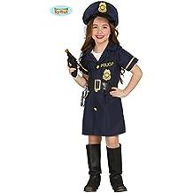 Disfraz de police girl infantil (5-6 años)