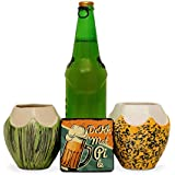 Funkiindia Unconventional Coconut Beer Mug For The Beach / / Wine Glass For Goth Parties/Beer Glass Combo/Beer Glasses Set Of 2 / Ceramic Beer Mug/Wine Glass Set Of 2 (2 Pieces)