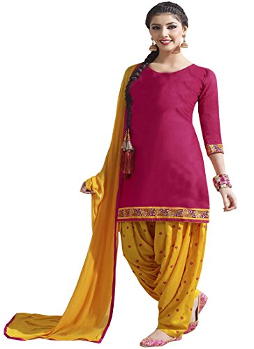 Patiala suit (Whatshop Designer Wear Patiala Free Size)