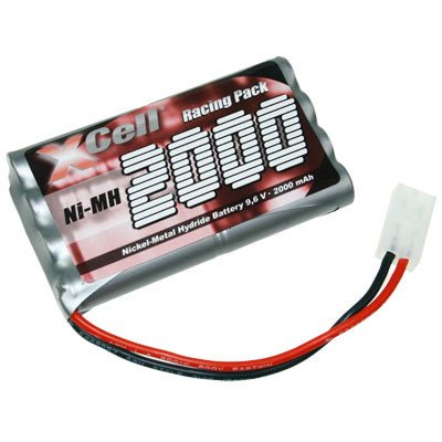 XCell RC Battery Pack per Modellini di auto da corsa / pacchetto con Tamiya Plug