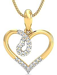 Stylori Zublan 18k (750) Gold and Diamond Pendant