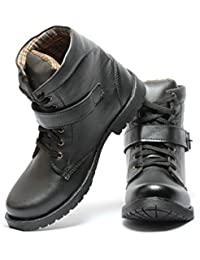 Pede Milan Shoes No-201 Synthetic Leather Boots for Men