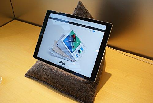 Edge Beanbags Techbed Maxi iPad PRO da 12,9', Tablet di Grandi Dimensioni, eBook Reader e Book Stand Cuscino di Supporto per Borsa di Fagioli per Tutti i dispositivi Fino a 12,9' (Slate Grigio)