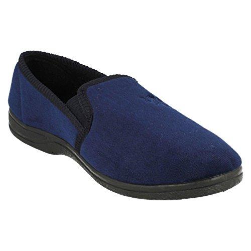 Sandali Blu Compensati Stagioni Quattro Uomo Marino Blu fp40Hwnx1