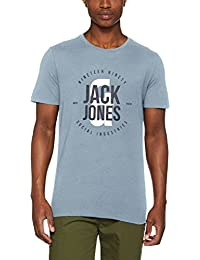 Jack & Jones Jcoscone Tee Ss Crew Neck, T-Shirt Homme