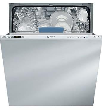 Indesit DIFP 28T9 A EU Entièrement intégré 14places A+ Argent lave-vaisselle - lave-vaisselles (Entièrement intégré, A, A+, Argent, boutons)