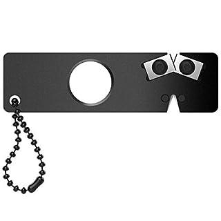 JEoutdoors Aiguiseur à Couteaux Affûteur de Poche Affûteuse d'outils multifonctions