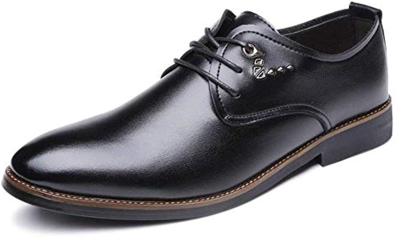 Oudan 2018 Business Casual da Uomo Oxfords Scarpe con Tacco a Punta con Tacco a Blocco Scarpe Casual (Coloreee ... | Up-to-date Styling  | Maschio/Ragazze Scarpa