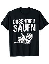 Dosenbier Saufen für lustige Party T-Shirt