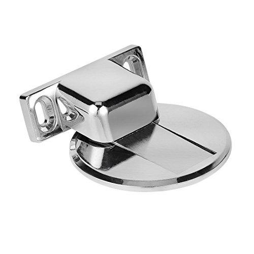tpohh Premium Zink Legierung Magnetverschluss Türstopper massivem Metall Türstopper Catch mit Hardware Schrauben kreisförmig -