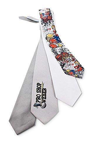 Firma Feuchtigkeit (Individuell bedruckt Krawatte - das beste seite es Krawatten gibt. Ideal für Firmen z.B. bei Messen, für denJungssellenabschied oder als Hingucker für jede Party - Sie wünsch wir drucken, Farbe:Silber)
