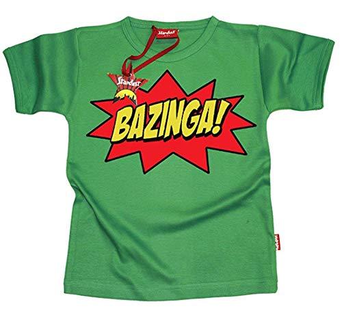 Big Bang Theory Inspiriert Bazinga Kinder-T-Shirts - Green 11 - 12 Years -
