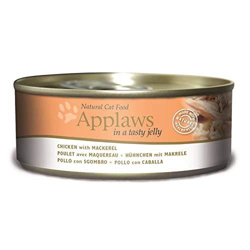 Applaws mit Hühnchenbrust & Makrele in Gelee | 24x 156g Katzenfutter