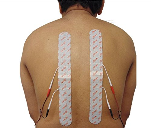 agen für Rückenschmerzen, Hexenschuss, Ischias, Arthritis x 2 Spinal Lang Tens Auflagen durch total TENS 4cm x 33cm ()