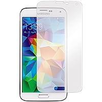 Hama Displayschutzfolie (für Samsung Galaxy S5 und S5 Neo, einfache Anbringung, Ultra-HD Qualität, passgenauer Präzisions-Laser-Cut, inkl. antistatischem Mikrofasertuch) 2er Set