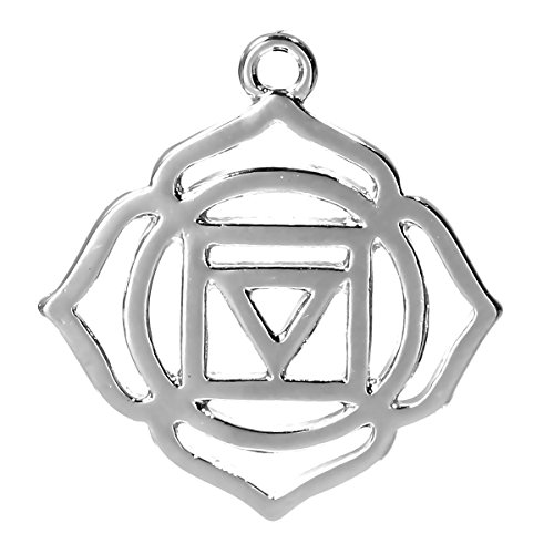 the-bead-and-button-box-2-silver-tone-chakra-pendant-muldhara-root-chakra-31cm-x-27cm-lead-and-nicke