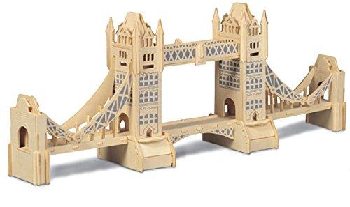 Tower Bridge Woodcraft Construction Kit