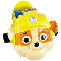 Paw patrol Toy Digital Watch Projection Cute 24 Style Cartoon patterns Time Clock Action patrulla Toy Child Birthday Gifts-Rubble