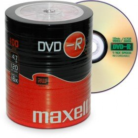 Maxell DVD-R 4.7GB 100 Pack 4