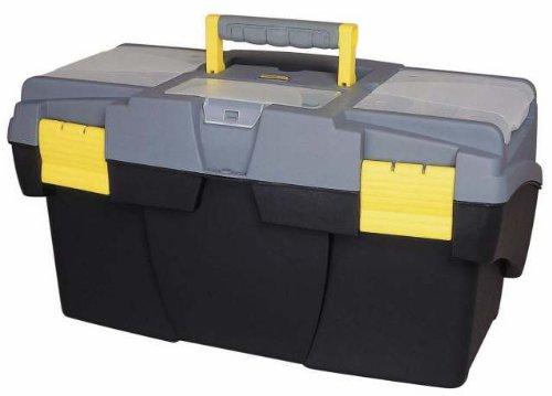 Stanley Werkzeugbox Mega Cantilever mit zwei entnehmbaren Organizern, 49.5 x 26.5 x 26.1 cm, 1-92-039
