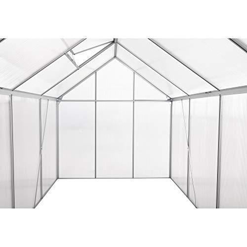 Zelsius – Aluminium Treibhaus - 6