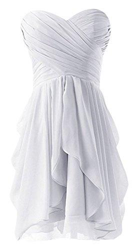 Drasawee - Robe - Bandeau - Femme Blanc - Blanc